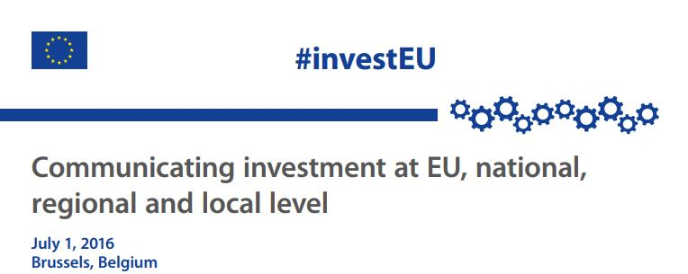 Communicating Investment at EU national regional and local level
