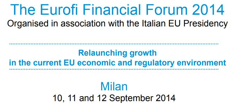 EUROFI Financial Forum